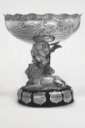 Canada's Cup - The Canada's Cup is a perpetual trophy awarded to the winner of a sailing match race between a yacht representing a Canadian yacht club and a yacht representing an American yacht club.