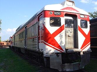 Budd Rail Diesel Car - An ex-Canadian Pacific Railway RDC-4 in 2007