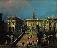 Canaletto - The Piazza del Campidoglio and the Cordonata.jpg