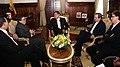Canciller Patiño acompaña a su homólogo cubano en su entrevista con el Presidente Correa (5405437268).jpg