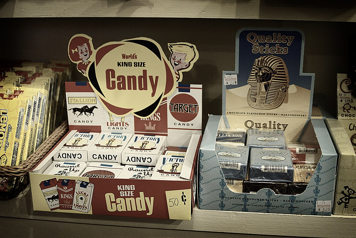Candy cigarette - Wikipedia