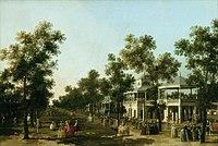 Caneletto - The Grand Walk, Vauxhall Gardens, London WAR COMP 131.jpg