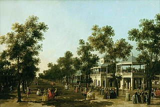 The Grand Walk, Vauxhall Gardens, London