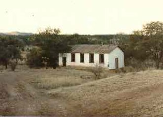 National Register of Historic Places listings in Santa Cruz County, Arizona - Image: Canelo School 2012 09 18 07 20 12