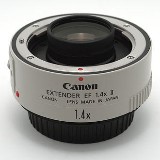 Canon Extender EF - The Canon Extender EF 1.4x II.