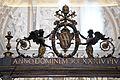 Cappella corsini, di alessandro galilei, 1732-35, 02 stemma corsini.jpg