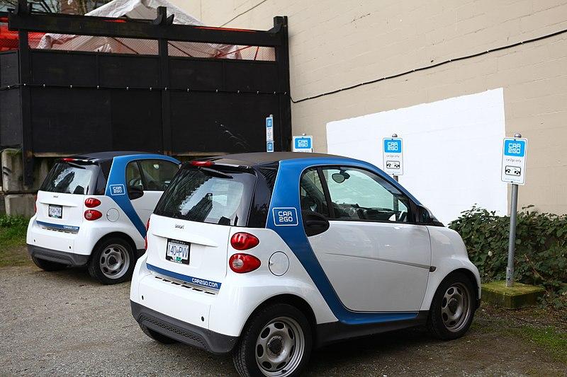 Dirigir Evo / Car2go em Vancouver