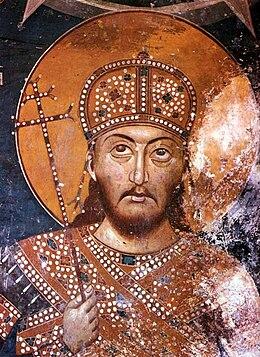 Rezultat slika za фреске ЦАРА ДУШАНА