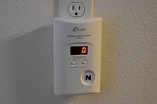 Carbon monoxide detector A device that measures carbon monoxide (CO)