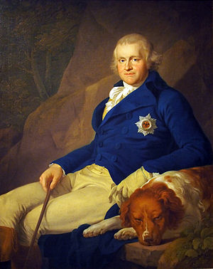 Karl August, Grand Duke of Saxe-Weimar-Eisenach - 1805 portrait of Karl August, Duke of Saxe-Weimar.