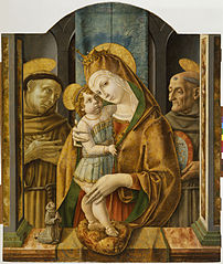 Madonna and Child with Saints and Donor
