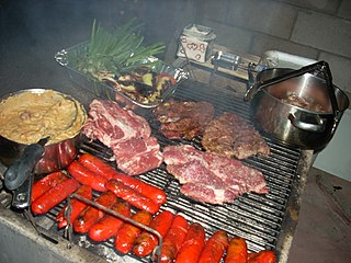 Carne asada Dish of grilled and sliced beef