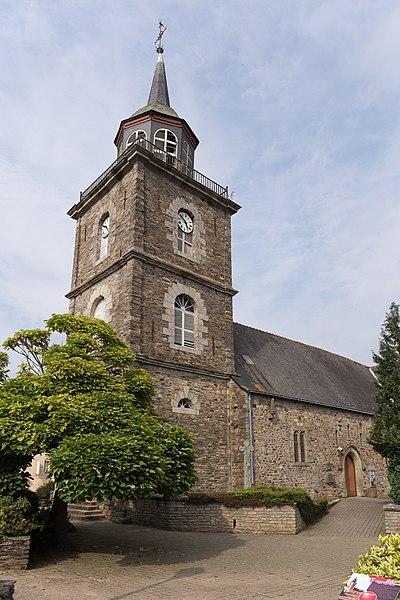 Église Saint-Hervé de Caro.
