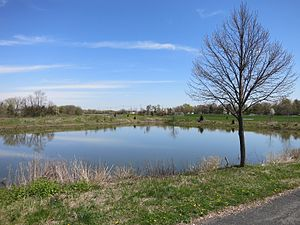 Carol Stream, Illinois - Operated by the Carol Stream Park District, Red Hawk Park is located at St. Charles and Kuhn Roads