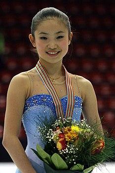 Caroline Zhang Podium 2008 Junior Worlds.jpg