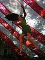 Carrers guarnits Gràcia 2012 - Plaça de la Vila, El circ 08.JPG
