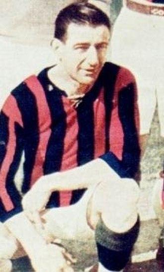 Alfredo Carricaberry - Carricaberry with San Lorenzo de Almagro.