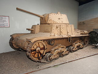 Carro Armato M15-42 in the Musée des Blindés, France, pic-2.JPG