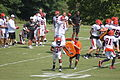 Carson Palmer and Cordera Eason at training camp 2010.jpg