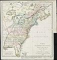 Carte de lAmérique septentrionale, depuis la baye dHudson jusquau Mississipi pour servir aux essais historiques et politiques sur la révolution de cette partie du monde (4231156375).jpg