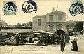 Carte postale - 132 - SURESNES - le marché (personnages ; véhicule hippomobile) - Verso.jpg
