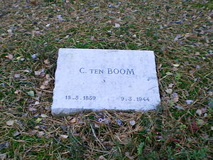 Casper ten Boom - Gravestone of Casper ten Boom