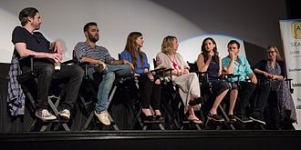 Casual (TV series) - Image: Cast of Casual at ATX Festival