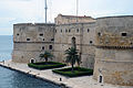 Castello aragonese in taranto seen from Ponte Girevole.jpg