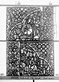 Cathédrale - Vitrail, baie 59, Vie de Joseph, deuxième panneau, en haut - Rouen - Médiathèque de l'architecture et du patrimoine - APMH00031362.jpg