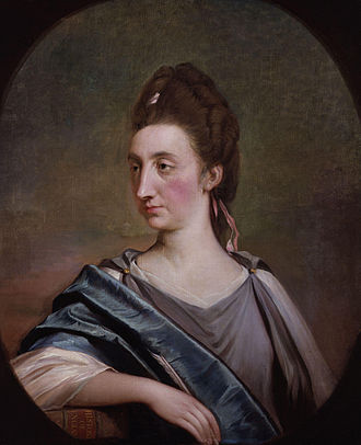 Robert Edge Pine - Image: Catharine Macaulay (née Sawbridge) by Robert Edge Pine