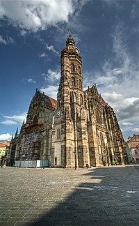 44c436ef4a3a1 Cathedral of St. Elizabeth in Košice.jpg