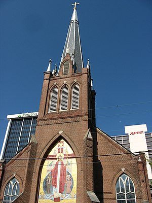Cathedral of St. Peter the Apostle (Jackson, Mississippi) - Image: Catholic cathedral of Jackson, Mississippi