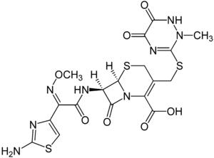 Struktur von Ceftriaxon