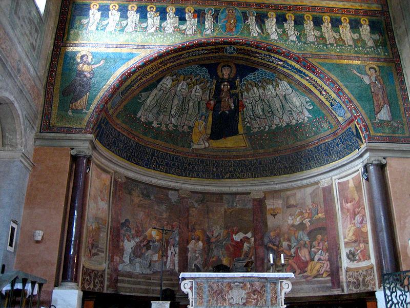 File:Celio - santa Maria in Domnica abside.jpg