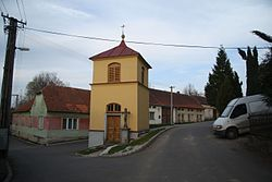 Center of Meziříčko, Třebíč District.JPG