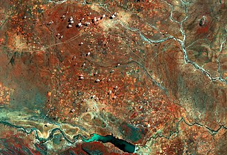 Sentinel-2 - Image: Central District Botswana ESA373976