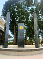 Central Philippine University's - Wall of Remembrance.JPG