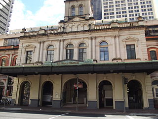 Central railway station, Brisbane railway station in Brisbane, Queensland, Australia