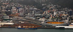 Wellington Regional Stadium - Westpac Stadium and CentrePort Wellington, 2015