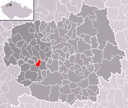 Location of Černiv