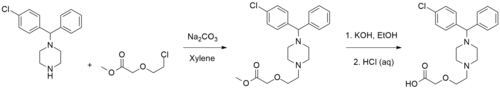 Cetirizine synthesis.png