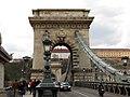 Chain Bridge from Széchenyi István tér, Budapest (11) (13229820695).jpg