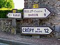 Chamicy, commune de Rully (60), plaques Michelin.jpg