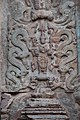 Chandramouleshwar Temple, Artistic idol of god carved in Chalukya style on the outer walls of the temple.jpg