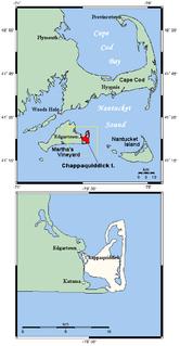 Chappaquiddick Island Small island at the eastern end of Marthas Vineyard, MA, USA