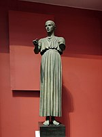 Charioteer of Delphi - replica in Pushkin museum 02 by shakko.jpg