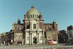 Image:Charleroi église Saint-Christophe