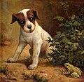 Charles Grant Beauregard - Terrier and Toad (1917).jpg