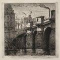Charles Meryon - Etchings of Paris- The New Bridge - 1954.890 - Cleveland Museum of Art.tif