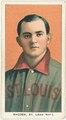Charlie Rhodes, St. Louis Cardinals, baseball card portrait LCCN2008676422.tif
